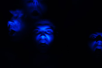 Demon, scary photo