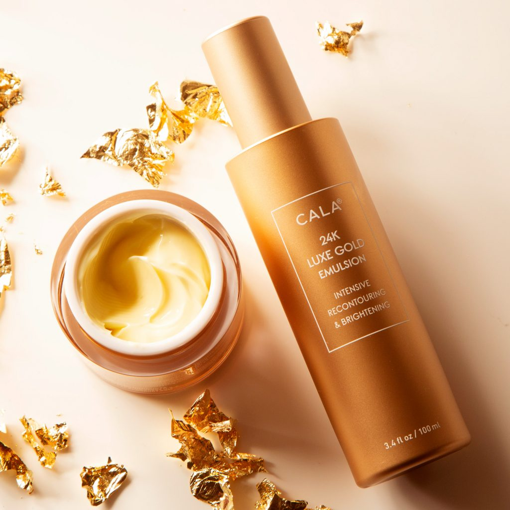 Gold cosmetics